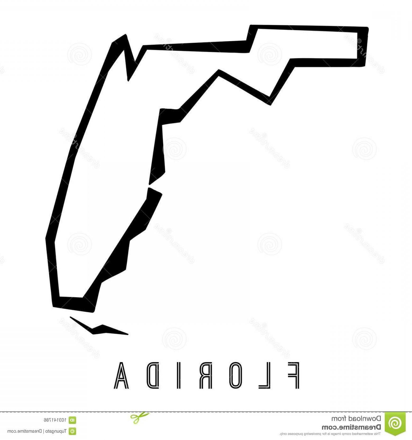 1560x1668 Florida Map Outline Vector Lazttweet