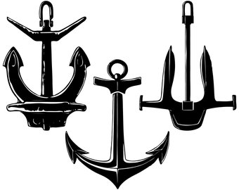 340x270 Anchor Silhouette Etsy