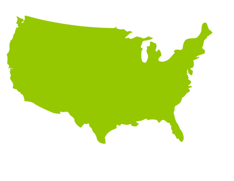792x612 Green Us Map Silhouette Png Best Free Us Map Silhouette Vector