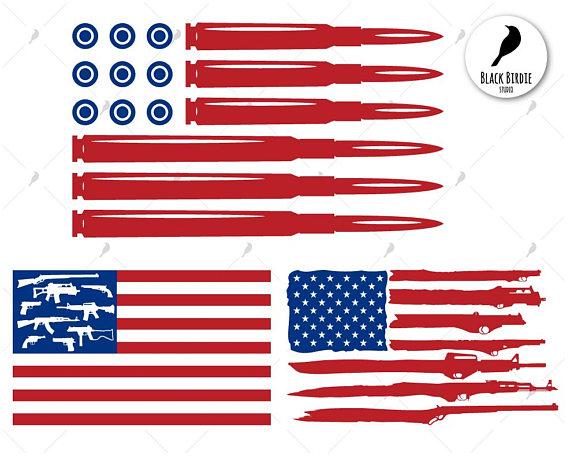 570x456 Bullet Flag Svg Gun Flag Svg Gun Flag Clipart Gun Svg