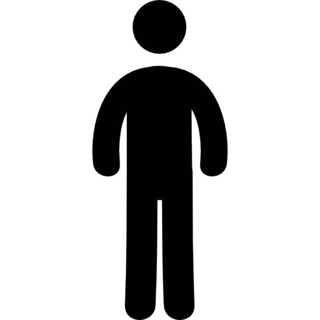 626x626 Free Silhouette Person Icon 195766 Download Silhouette Person