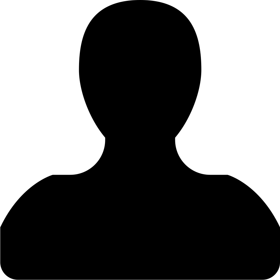 981x981 User Male Black Silhouette Svg Png Icon Free Download ( 31803