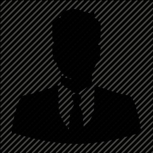 512x512 Avatar, Business, Businessman, Male, Man, Silhouette, User Icon