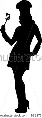 171x470 Stock Vector Girl In Cook Costume For Valentine's Day Party