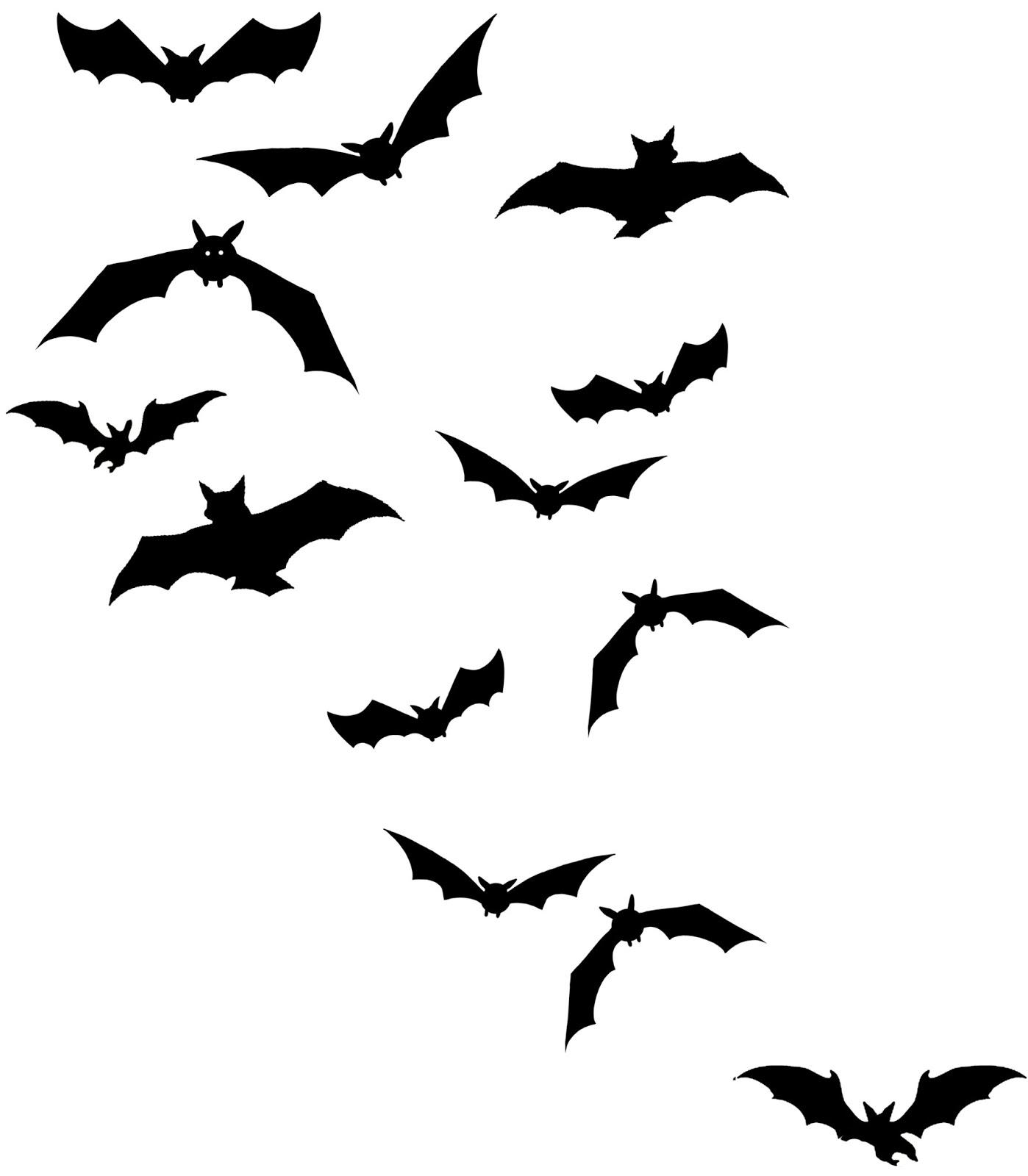 Vampire Bat Silhouette