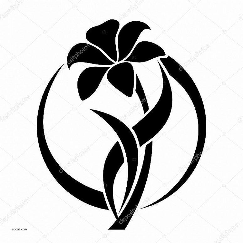 775x775 Lovely Clipart Flower Vase