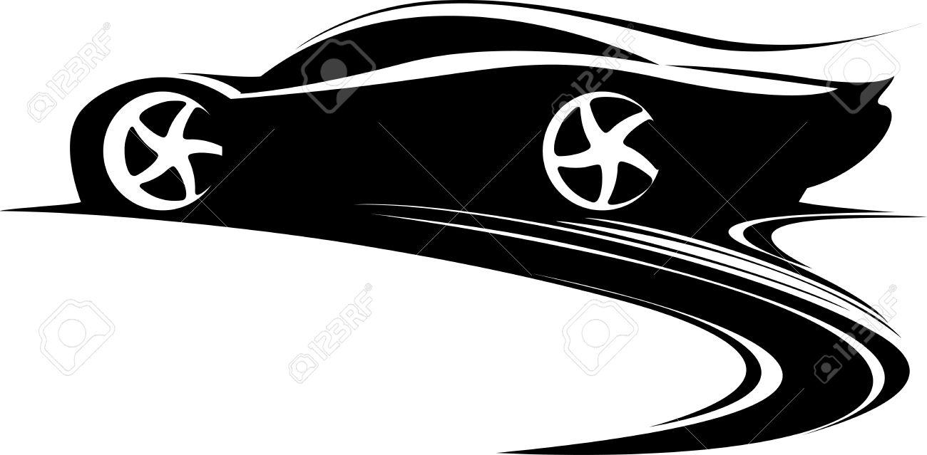 1300x639 Drift Car Clipart