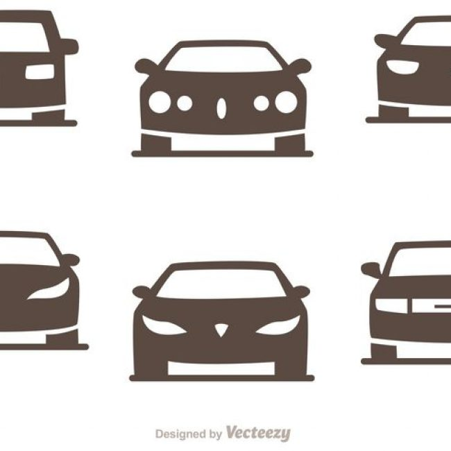 650x650 Free Vector Cars Silhouette Vector Pack Of Sedans
