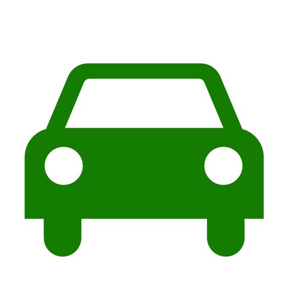 600x600 Green Car Silhouette Svg Clip Arts Download