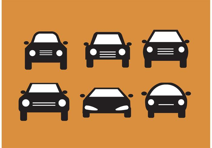 700x490 Car Front Silhouettes