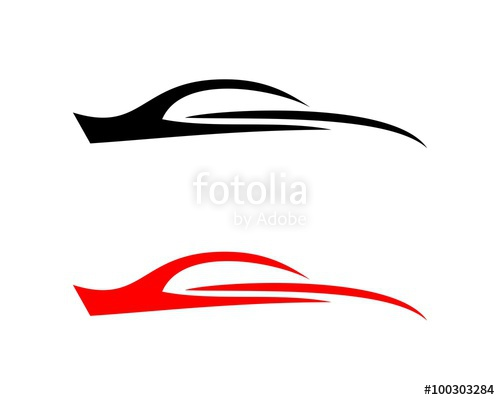 500x400 Car Silhouette Automotive Logo Stock Image And Royalty Free