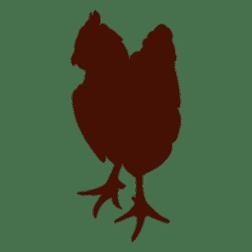 512x512 Pet Chicken Silhouette