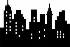 236x160 Free City Skyline Silhouette Vector City Silhouette Graphics