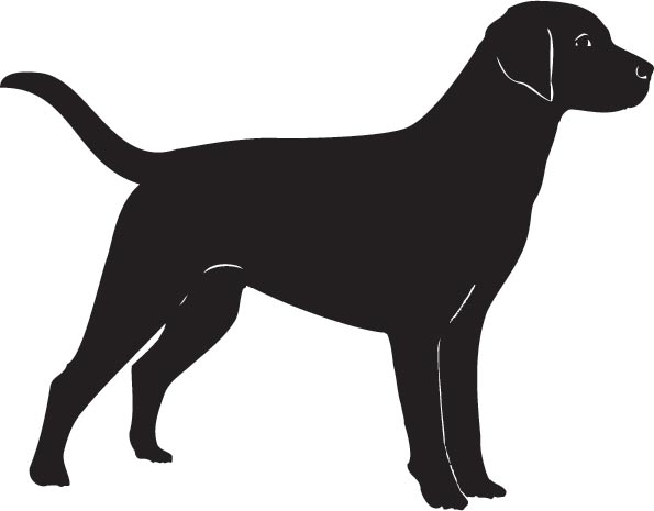 vector dog silhouette at getdrawings com free for personal use rh getdrawings com dog breed silhouette vector dog silhouette vector free download