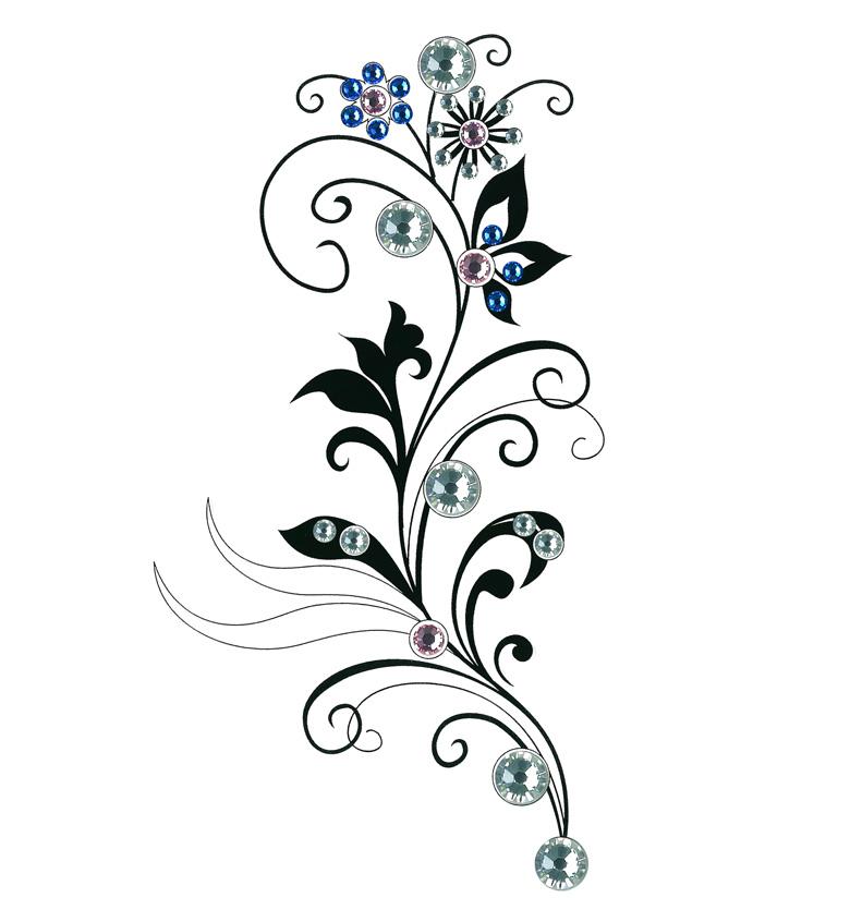 Vector Flower Silhouette
