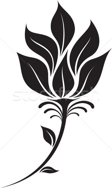 358x600 Flower Silhouette Vector Illustration Ahmed Nassar (Silverrose1