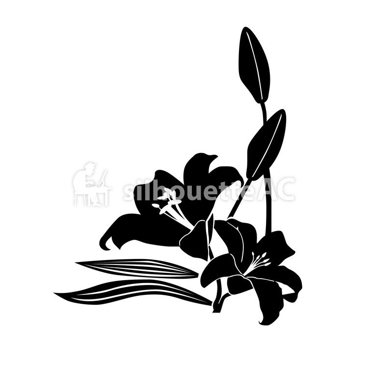750x750 Free Silhouette Vector Flower, Violet, Up, Art