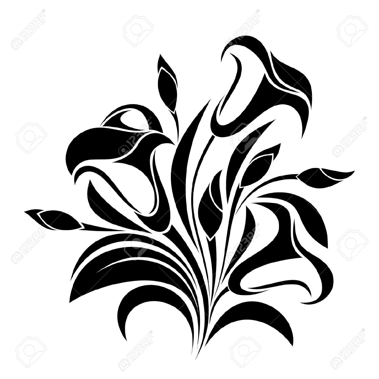 1300x1300 Abstract Clipart May Flower