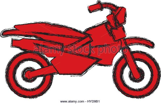 640x412 Motor Cross Bike Cut Out Stock Images Amp Pictures