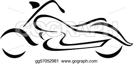 450x218 Motorcycle Silhouette Clip Art Many Interesting Cliparts