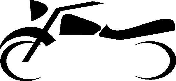 600x276 Motorcycle Symbol Clip Art