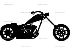 236x177 Harley Silhouette Clipart