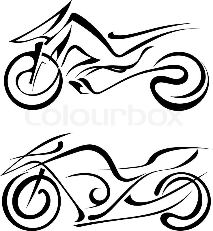 738x800 Silhouette Motorcycles