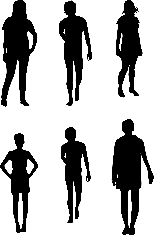 vector people silhouette at getdrawings com free for personal use rh getdrawings com Cartoon People Vector Professional People Icon Vector