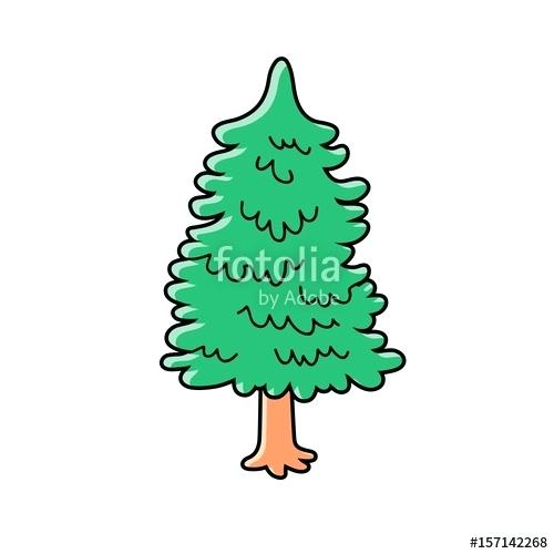 500x500 Pine Tree Vector Pine Tree Vector Silhouette Free