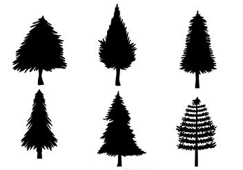 352x246 Tree Silhouettes Free Vector Download 141407 Cannypic