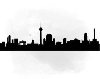 340x270 City Skyline Singapore Svg Clipart International City Digital