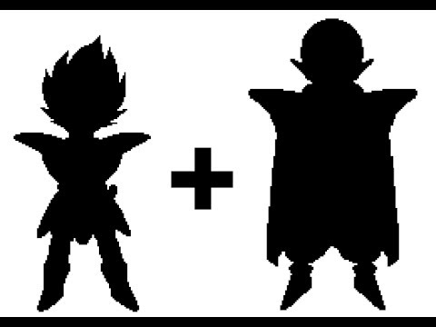 480x360 Pixel Art Drag0n Ball Fusi0ns Custom Vegeta + Piccolo
