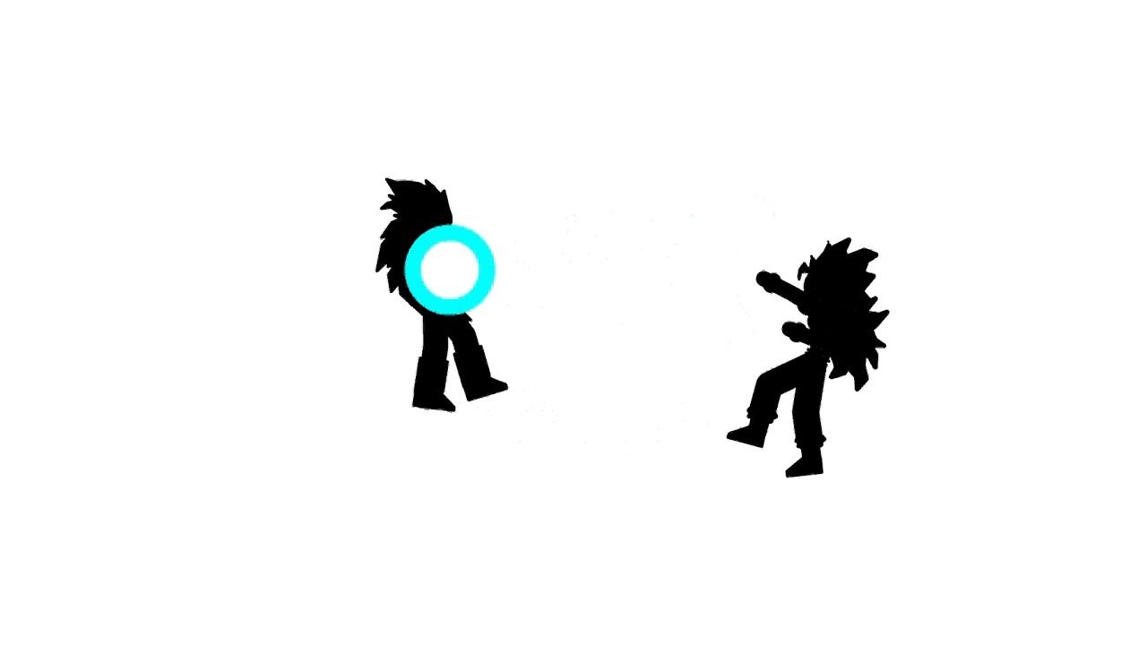 1280x720 Goku Vs Vegeta [Animacion]