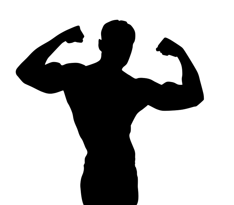 822x720 Free Photo Pilates Silhouette Bodybuilding Man
