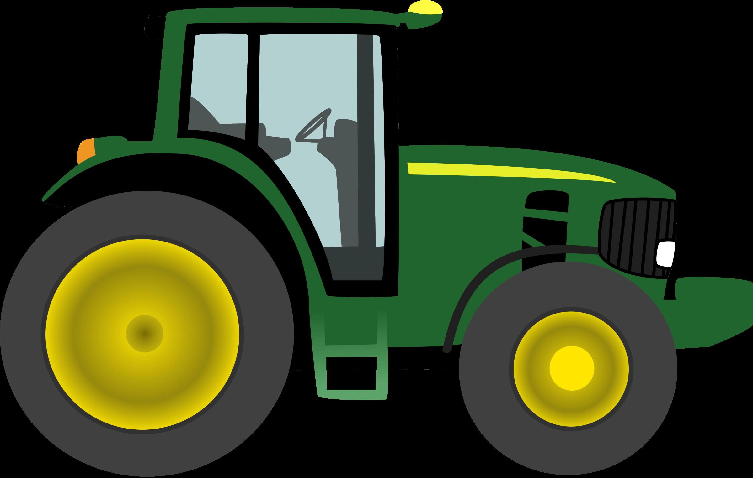 2400x1526 Tractor Silhouette Cliparts
