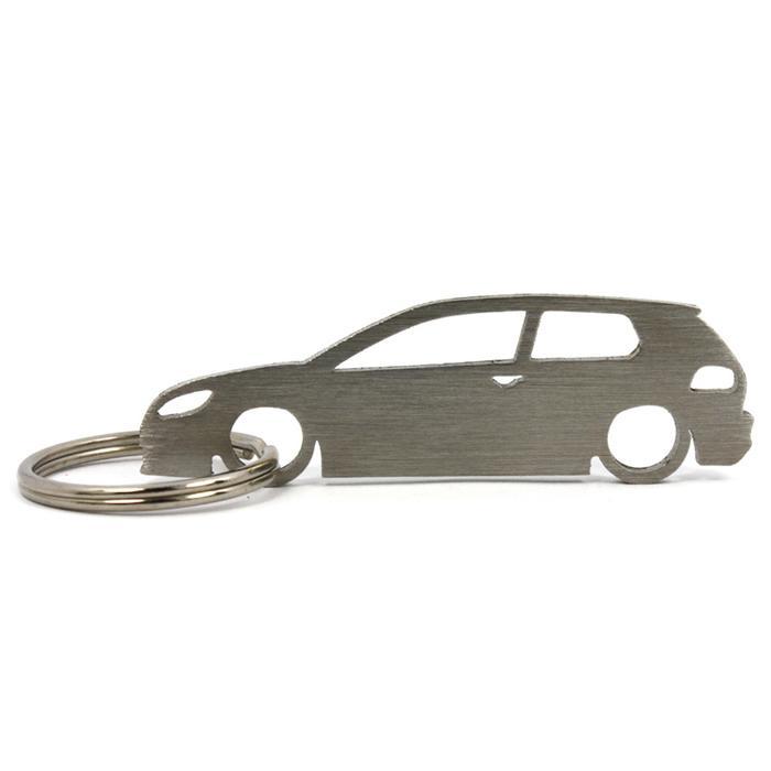 700x700 Volkswagen Golf Mk6 3d Silhouette Keychain Car Throttle Shop