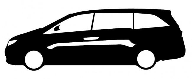650x267 Car Silhouette Sticker