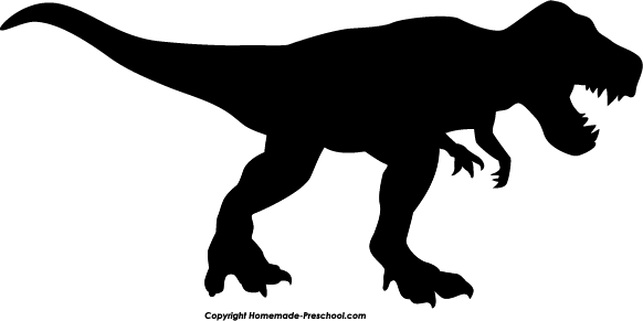 582x291 Home Free Clipart Silhouette Clipart Silhouette T Rex Svg Files