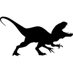 240x240 Raptor Silhouette Clipart