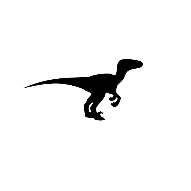 Velociraptor Silhouette at GetDrawings.com | Free for ...