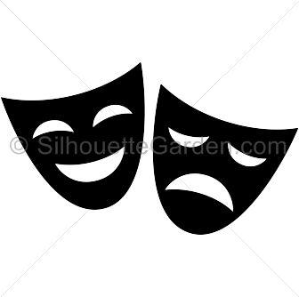 Venetian Mask Silhouette