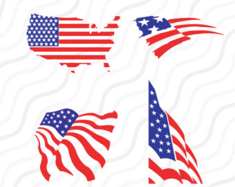 340x270 July 4th Svg, Design Set, Memorial Day Svg, American Flag Svg, Svg