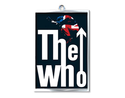 400x313 The Who Pete Union Jack Silhouette Keychain Buy