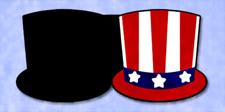450x225 Brittany's Svg Files Uncle Sam Hat Card Free Svg Amp Wpc Cut