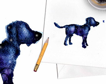 340x270 Dog Breed Card Etsy
