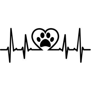 300x300 Silhouette Design Store Heartbeat Pet Love Cricut