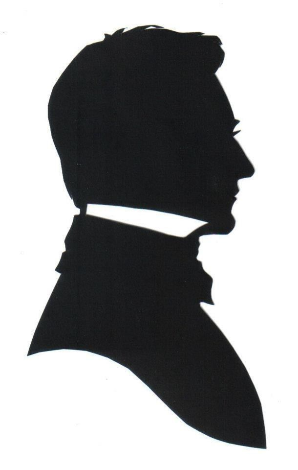 Victorian Gentleman Silhouette