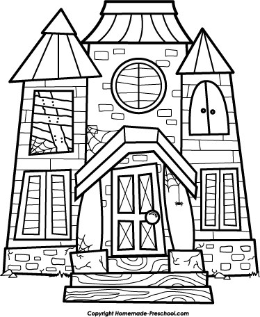 374x456 White House Clipart Cottage