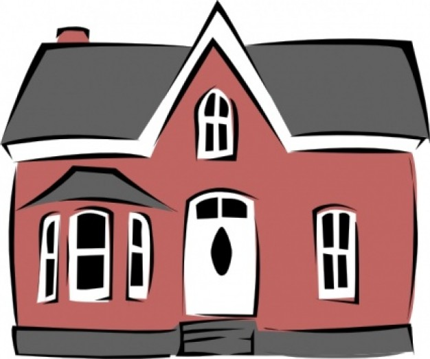626x524 Old House Clipart Big House