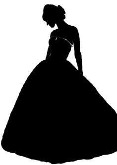 236x334 Victorian Lady With Parasol Silhouettes Victorian